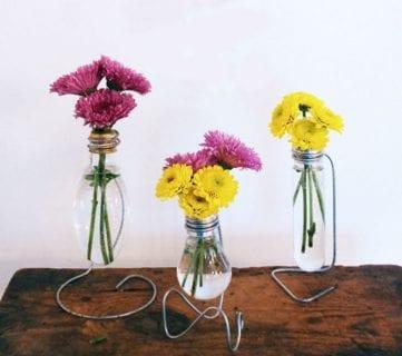 20 Modern DIY Flower Vases