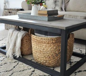 20 Unique DIY Coffee Table Ideas