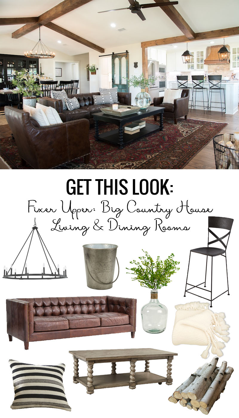Get This Look: Fixer Upper Big Country