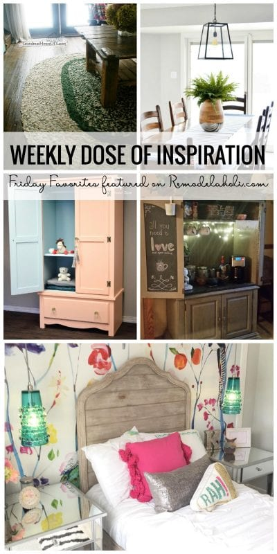 Get Your Weekly Dose Of Inspiration With Our Friday Favorites Featured On Remodelaholic.com