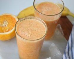 Mango Sunrise Smoothie