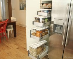 ORganized Snack Pantry For Family By @remodelaholic 17