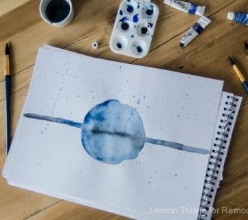 Simple Watercolor Painting (No Art Skills Required)