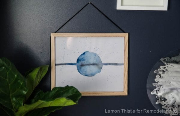 Easy Art Ideas for Kids Room Decor: Easy DIY Watercolor Painting