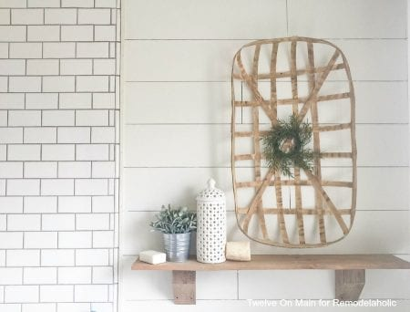 Rustic Farmhouse Shelves By Twelve On Main13