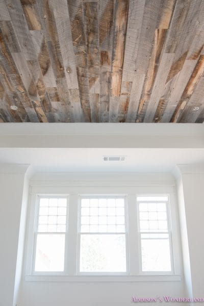 Stikwood Reclaimed Weathered Wood Ceiling Bedroom 16 Of 17