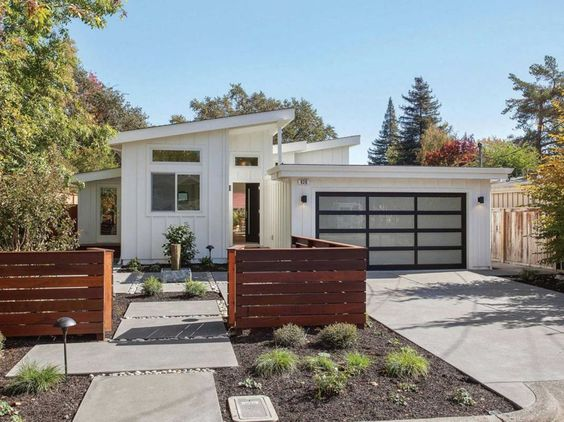 Remodelaholic Real Life Rooms A Modern Exterior Curb Appeal Update