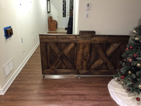 Barn Door Baby Gate
