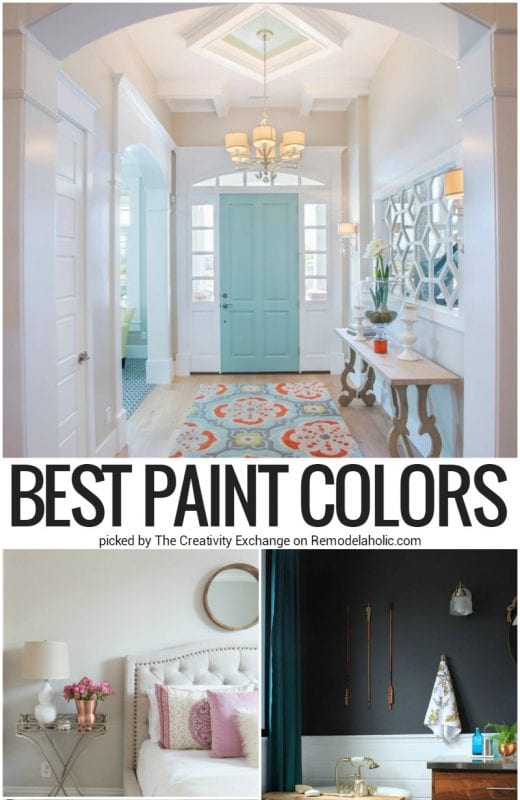 Best Paint Colors 2016 @Remodelaholic Crop