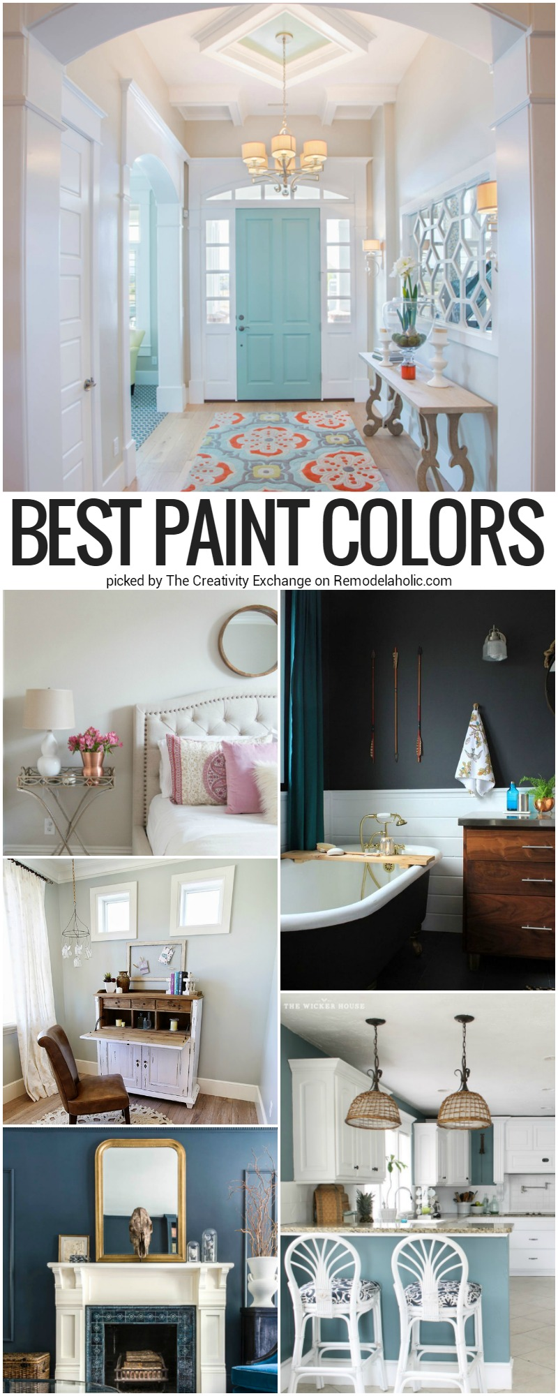 paint colors for low light roomsRemodelaholic  Best Paint Colors and Tips from 2016