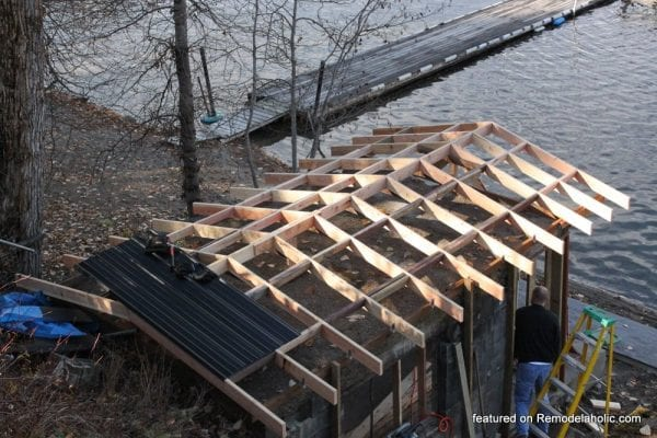 Boat House Renovation Before And After Featured On @Remodelaholic (21)