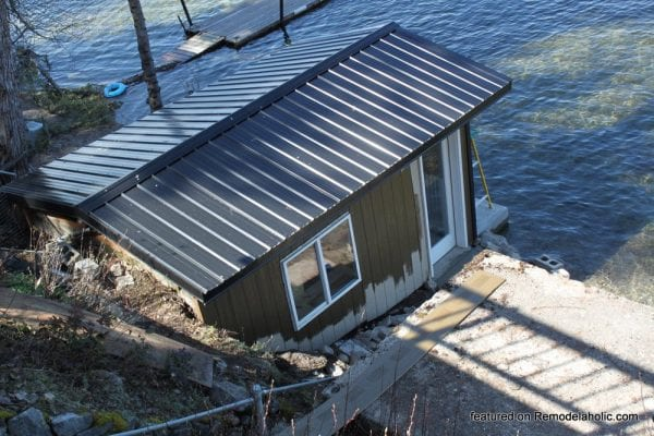 Boat Shed Renovation Before And After Featured On @Remodelaholic (2)