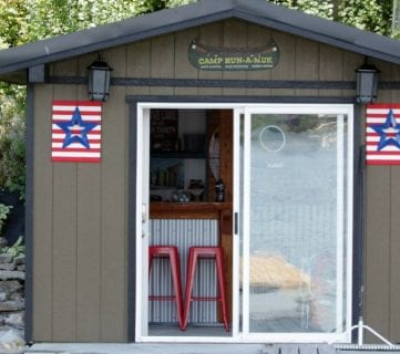 Before and After: Boat Shed Renovation into Bar