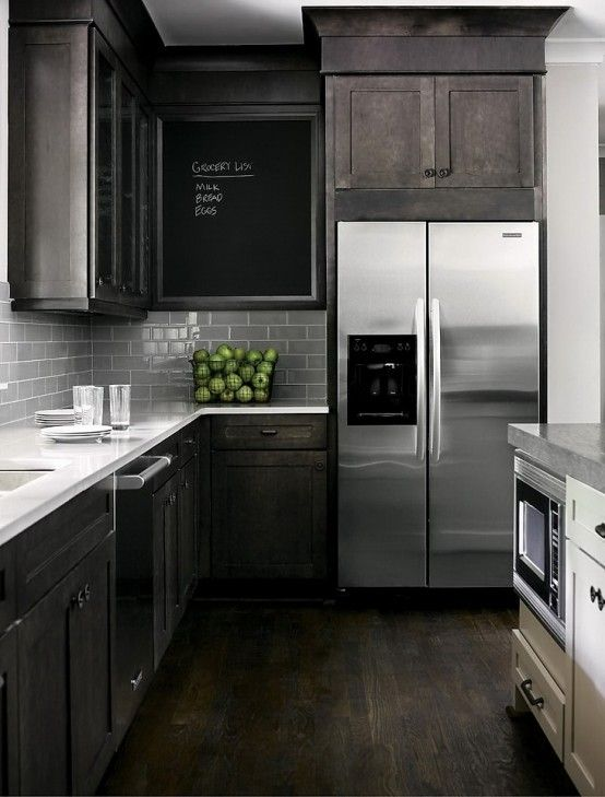 Remodelaholic | Dark Kitchen Cabinet Inspiration And Design Tips