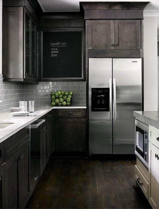 Dark Kitchen Inspiration