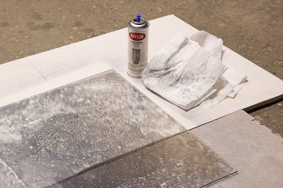 Diy Antique Mirror Wipe Paper Towel1