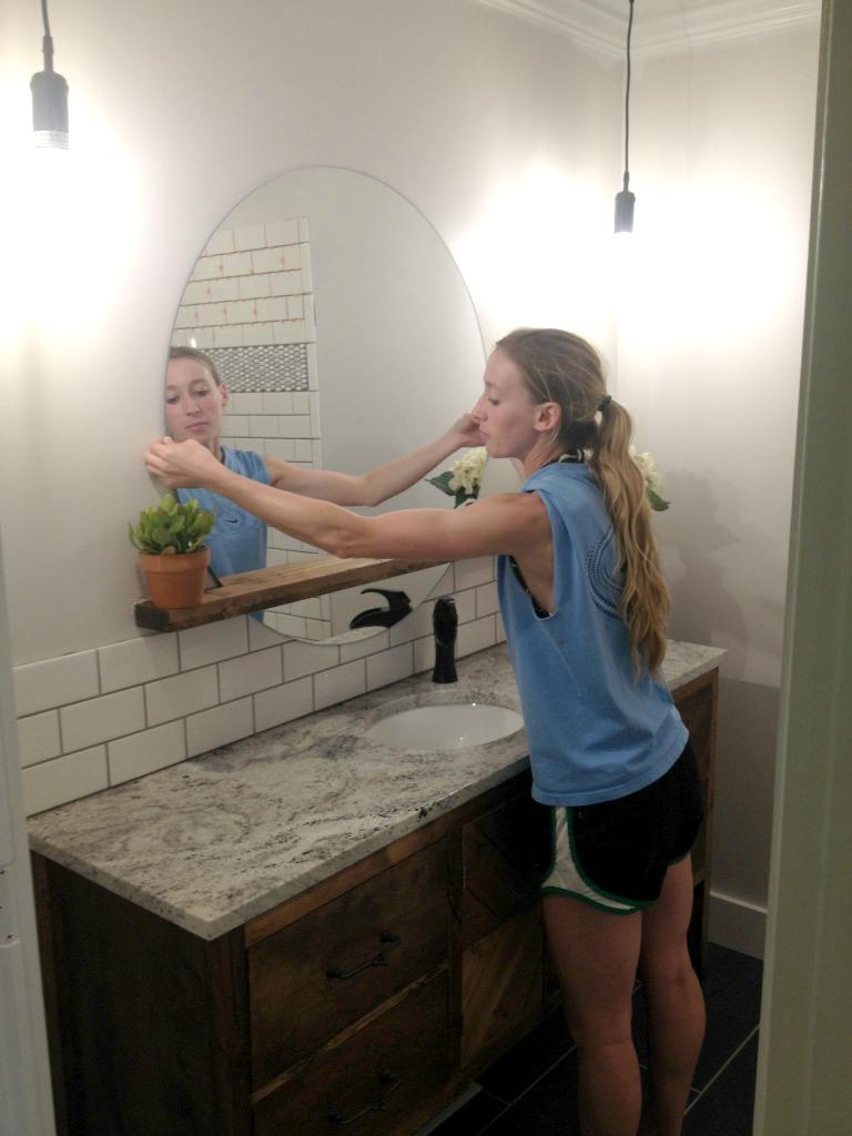 Diy Bathroom Remodel Counter
