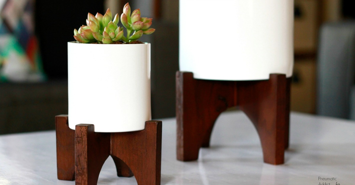 How To Build Modern Tabletop Planters