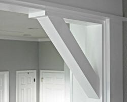 Feat Decorative Casing And Corbels By Sawdust2stitches For Remodelaholic.com