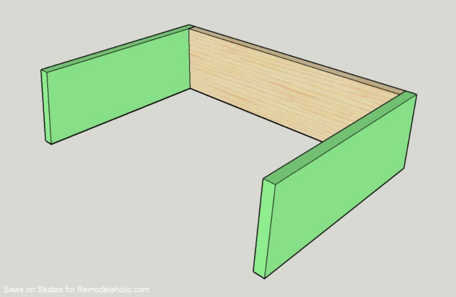 Saws On Skates Mid Century Modern Nightstand Drawer Assembly 1