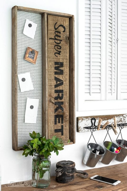 20 Reclaimed Wood DIY Projects Funky Junk Interiors