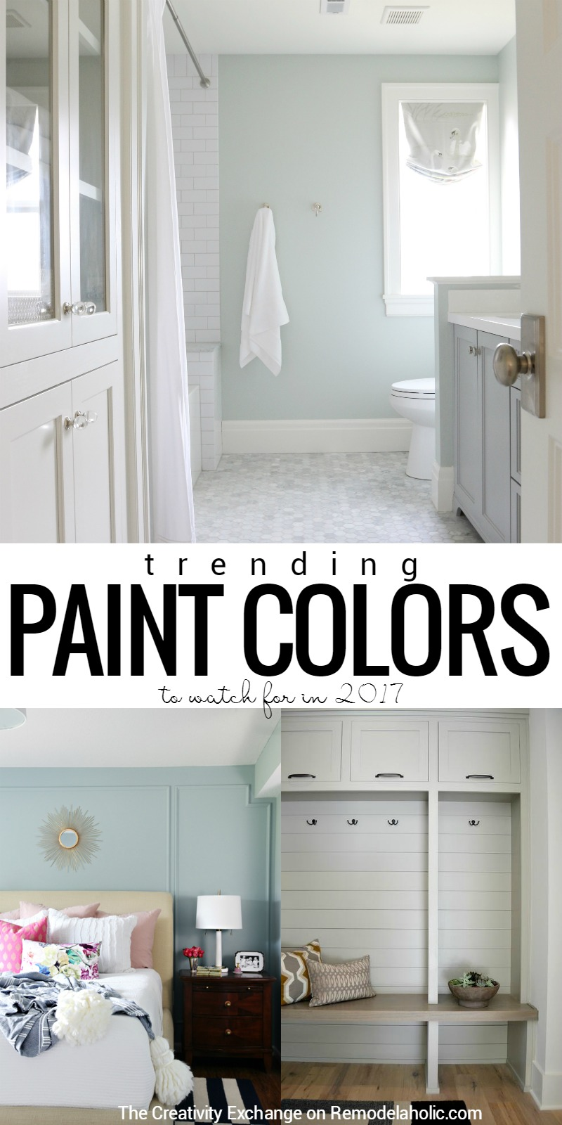 Remodelaholic paint color trends for 2017 Paint color tips