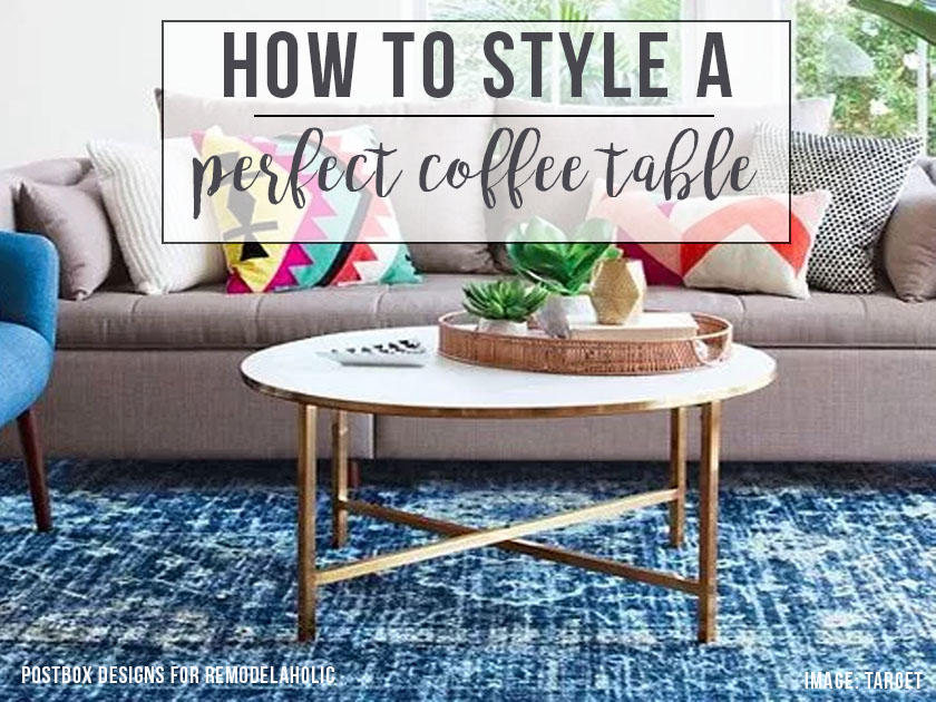 Decorating A Coffee Table Can Be Both Magazine Beautiful And Practical For Family Life