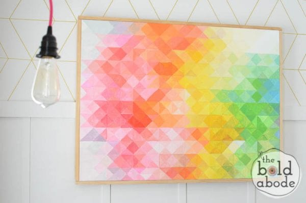 DIY Canvas Art Projects The Bold Abode
