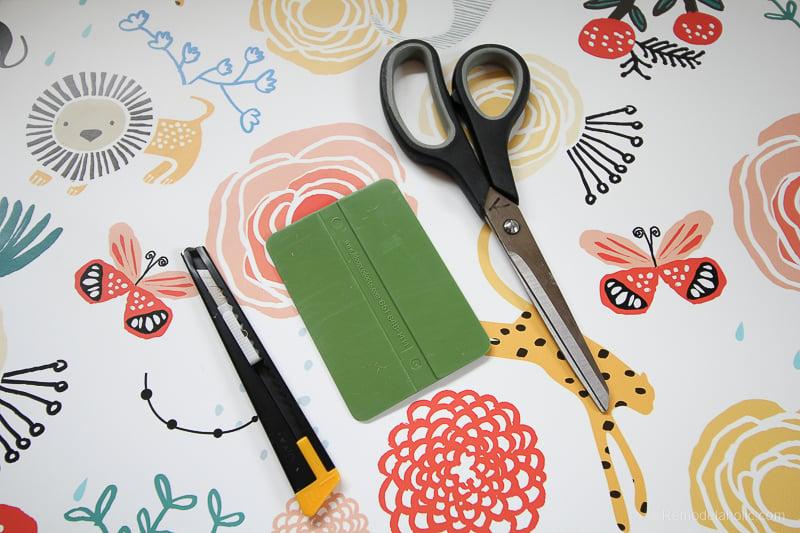DIY Ikea Dresser Hack Updating With Wallpaper @remodelaholic 2