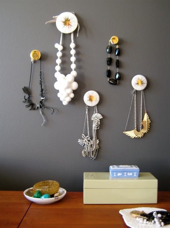 DIY Jewelry Organizer Ideas Apartment Therapy