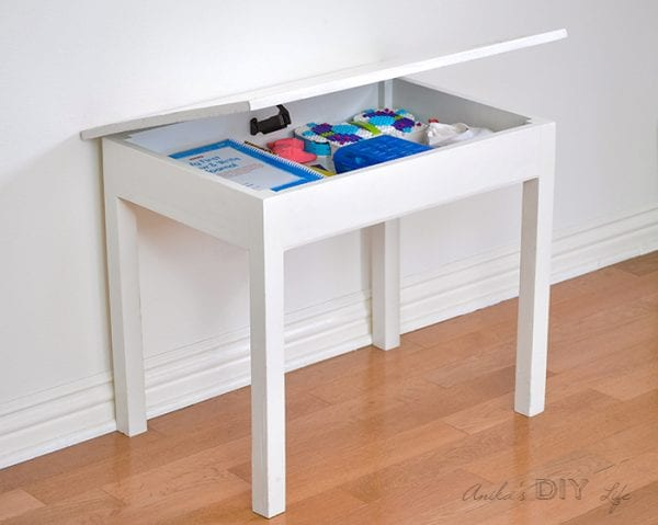 DIY Kids Table With Storage Orig 2700