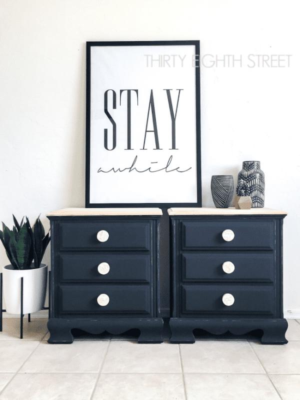 Minimalist Modern Painted Furniture 20
