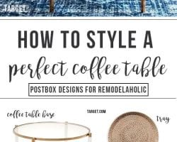 Postbox Designs: Styling the Perfect Coffee Table PINTEREST