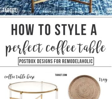 The 6 Step Formula to Style the Perfect Coffee Table