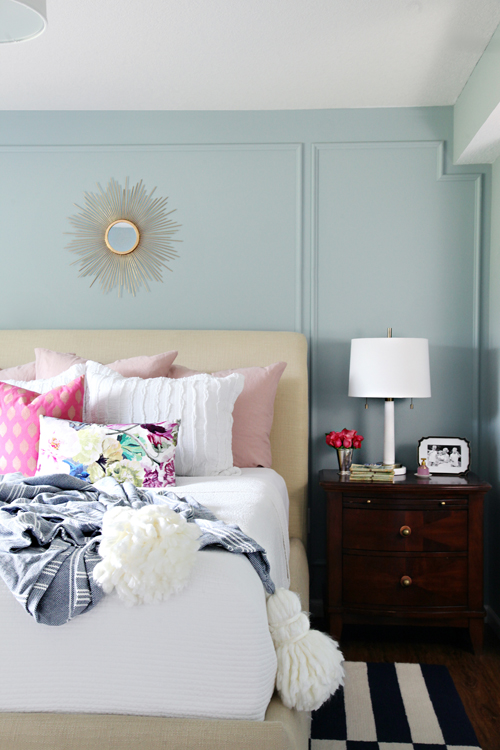 Master Bedroom Trends 2017 remodelaholic | paint color trends for 2017
