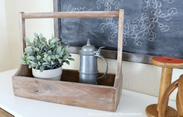 Antique Crate Front, MyLove2Create