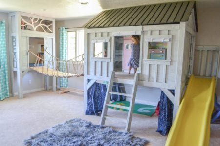 Cabin Playhouse, The Created Home