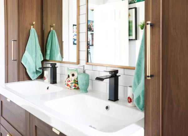 Faux Gold Mirrors Featured