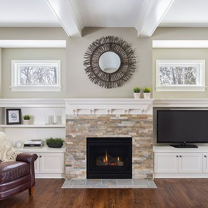 Fireplace Built-in Shelving Inspiration