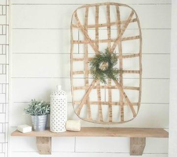 DIY Rustic Farmhouse Shelves