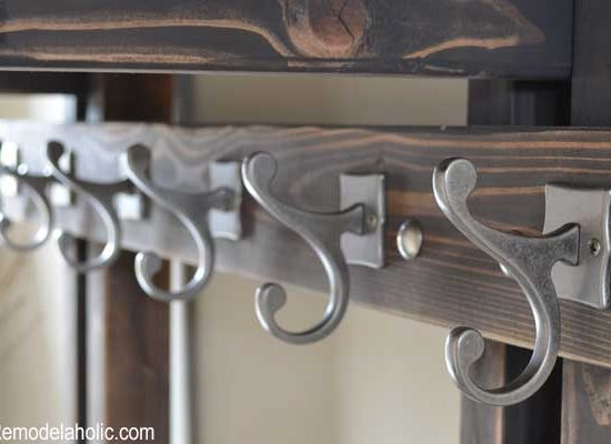 Hall Tree Coat Hook Feature