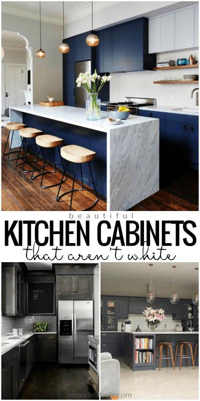 Remodelaholic Dark Kitchen Cabinet Inspiration And Design Tips