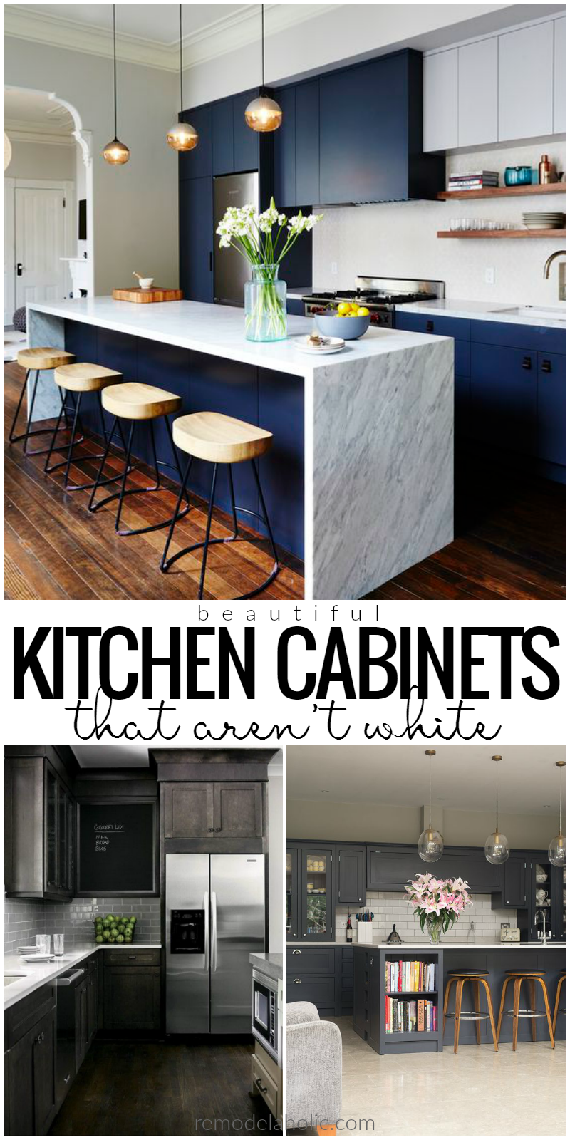 Dark Kitchen Cabinet Inspiration And