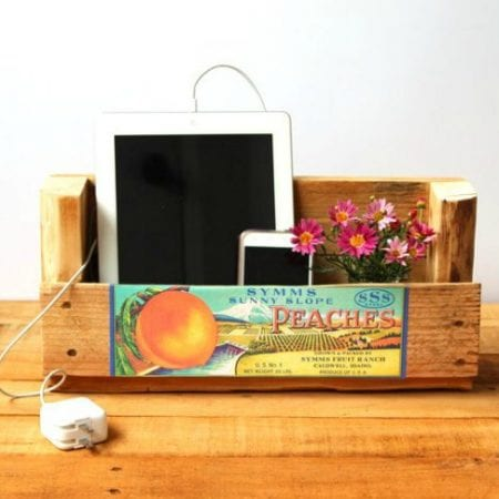Scrap Project, Wall Charging Station Or Organizer