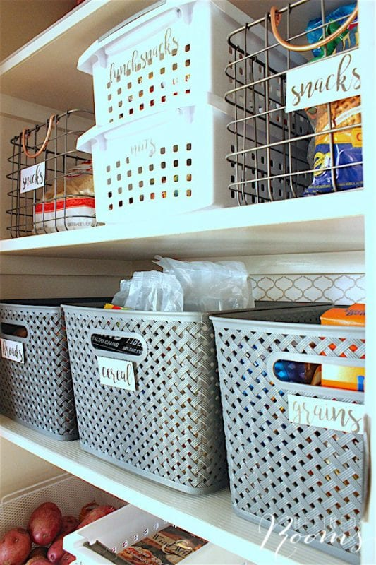 1 How To Create An Organized Kitchen Pantry, By Refined Rooms Featured On @Remodelaholic