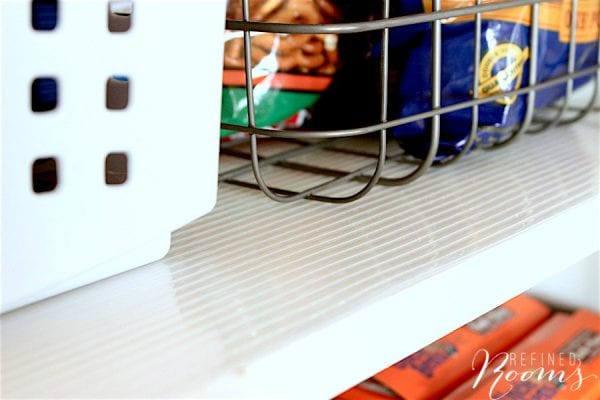 16 Plast O Mat Ribbed Shelf Liner Prevents Damage In Pantry, By Refined Rooms Featured On @Remodelaholic
