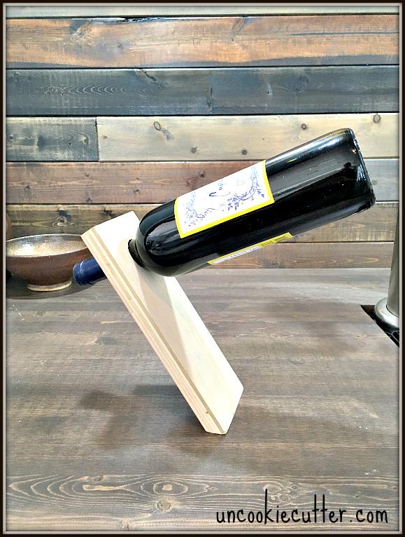 Balancing Wine Bottle Uncookie Cutter