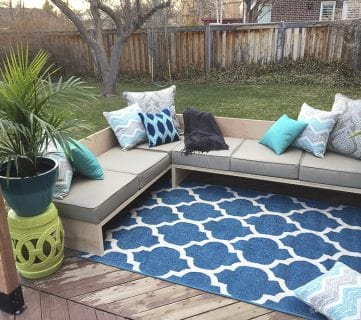 Outdoor Sectional Sofa Reveal