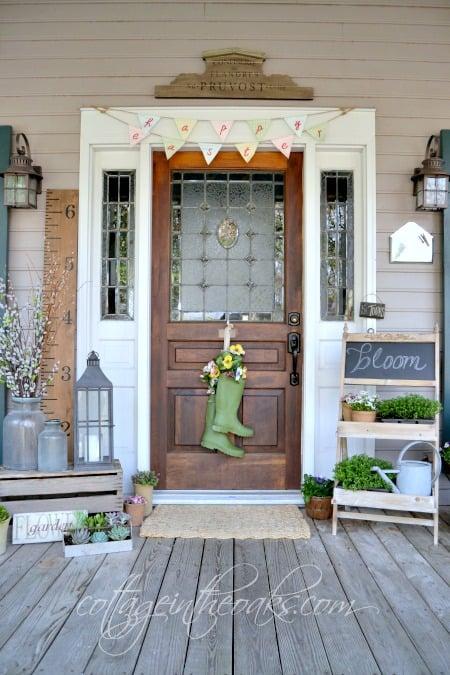 Cottage Spring Front Porch1