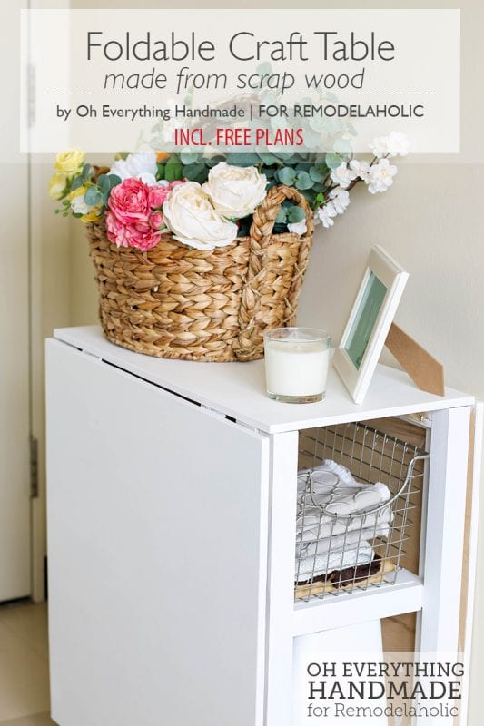 Craft Desk Diy Small Spaces